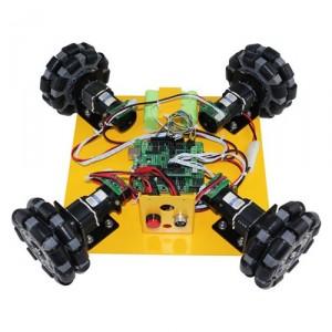 NEXUS-10008 4WD 100mm 옴니휠 로봇플랫폼
