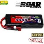 [최고급 A급 판정]EP Power 6000mAh 7.4V/2S1P 30C 카본무늬 하드케이스 리튬폴리머 배터리 딘스잭 (IFMAR, BRCA 및 EFRA ,ROAR Approve