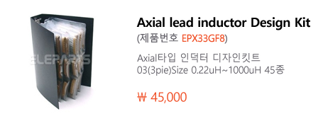 Axial lead inductor Design Kit