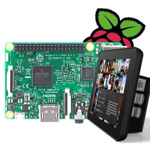 라즈베리파이3 LCD(7